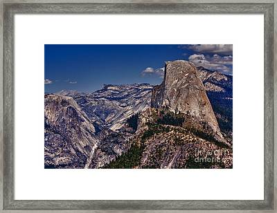 301 - Blue Skies Hdr Framed Print by Chris Berry