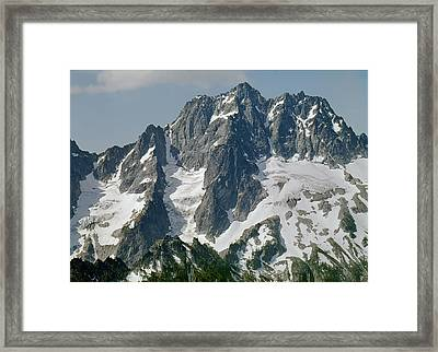 304630 North Face Mt. Stuart Framed Print