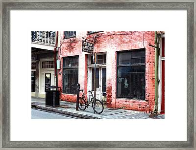 305 Antiques Shop Framed Print by John Rizzuto