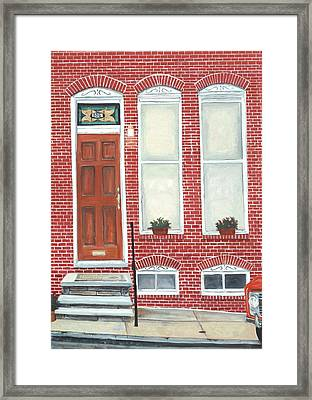 305 Hamburg Framed Print by John Schuller