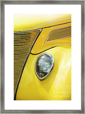Framed Print featuring the photograph 30s Ford by Tim Gainey
