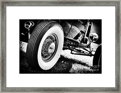 30s Rod Framed Print by Tim Gainey