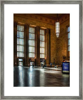 30th Street Station Framed Print