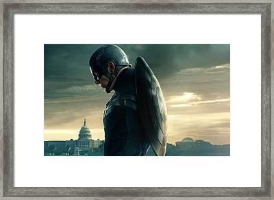 Captain America Civil War 2016 Framed Print