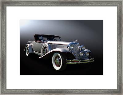 31 Chrysler Imperial Framed Print by Bill Dutting