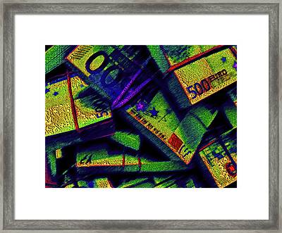 Green Disaster. Framed Print by Andy Za