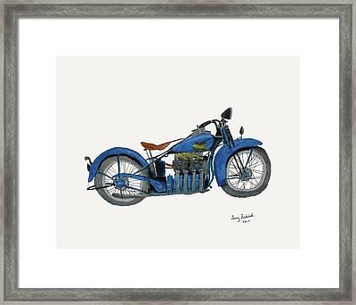 31 Henderson Kj Framed Print