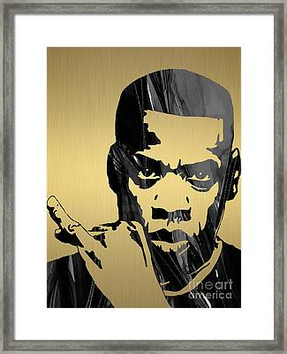 Jay Z Collection Framed Print