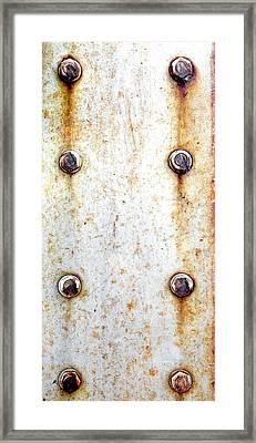 Metal Background Framed Print