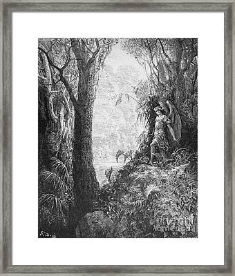 Milton: Paradise Lost Framed Print