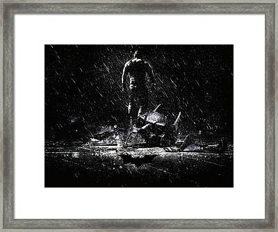 The Dark Knight Rises 2012  Framed Print