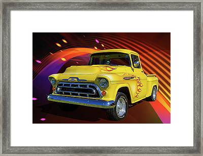 3100 Chevy Framed Print