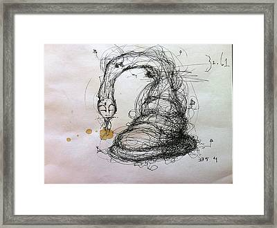 3161 Feeling Slow Original Framed Print