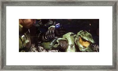 Halo 3 10th Anniversary Framed Print