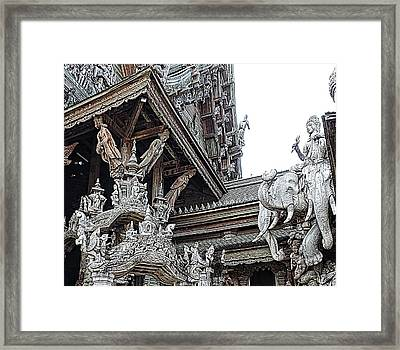 World Peace Activist Framed Print