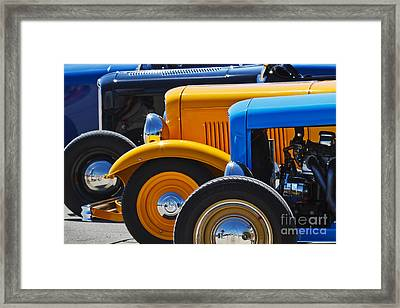 '32 X 3 Framed Print by Dennis Hedberg