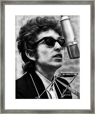 Bob Dylan Collection Framed Print