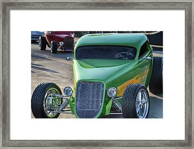33 Foose Coupe Framed Print