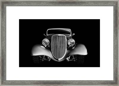 Framed Print featuring the digital art '33 Ford Hotrod by Douglas Pittman