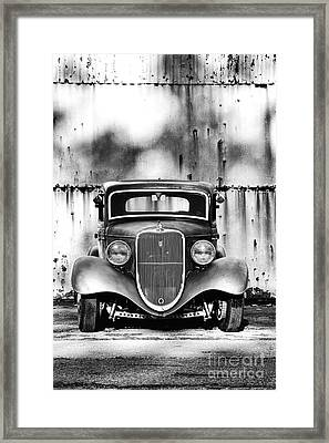 33 Ford V8 Framed Print by Tim Gainey