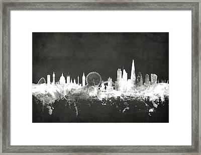 London England Skyline Framed Print