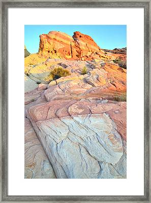 Valley Of Fire Framed Print by Ray Mathis