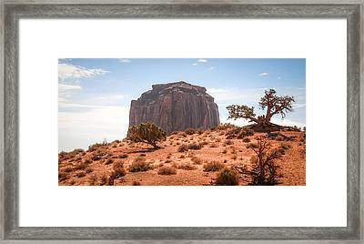 #3328 - Monument Valley, Arizona Framed Print