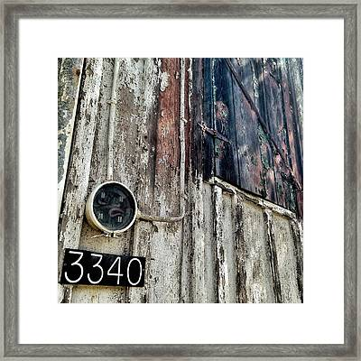 Framed Print featuring the photograph 3340 by Olivier Calas