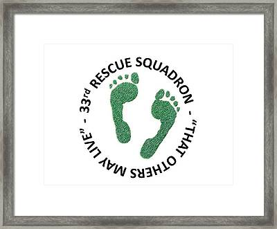 33rd Rescue Squadron Framed Print