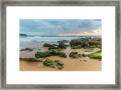 Dawn Seascape Framed Print