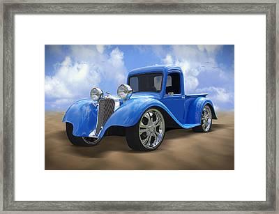 34 Dodge Pickup Framed Print by Mike McGlothlen