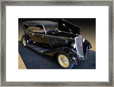 34 Ford Phaeton Framed Print