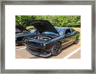 Hall County Sheriffs Office Show And Shine Car Show Framed Print