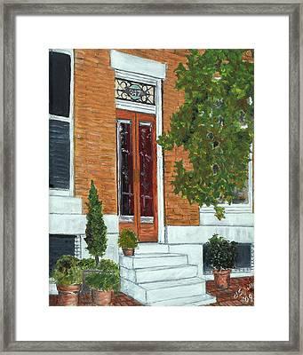 347 Warren Framed Print by John Schuller
