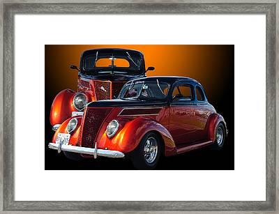 35 Ford Framed Print by Jim  Hatch