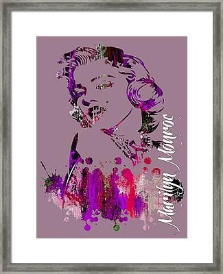 Marilyn Monroe Collection Framed Print