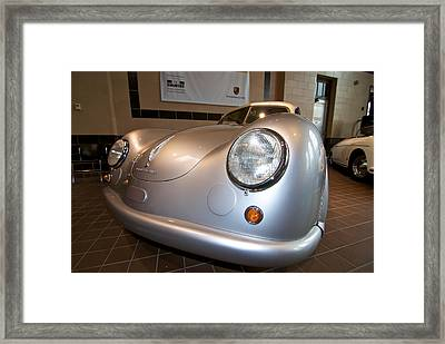 356 Sl Gmund Coupe Framed Print by Paul Barkevich
