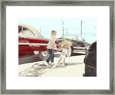 35th St. Palmdale Framed Print