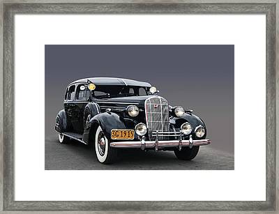 36 Buick 8 Sedan Framed Print by Bill Dutting