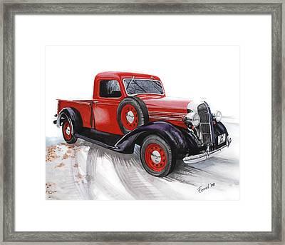 36 Dodge Framed Print by Ferrel Cordle