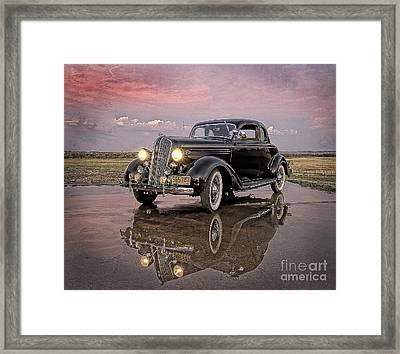 36 Plymouth Reflections Framed Print