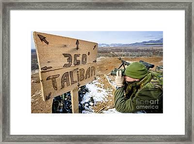 360 Taliban Framed Print