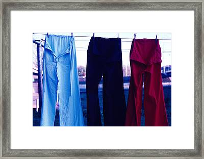Cuidad Juarez Mexico Color From 1986-1995 Framed Print by Mark Goebel