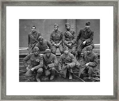 369th Infantry Regiment Framed Print by Granger