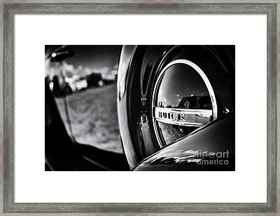 37 Buick 8 Monochrome Framed Print by Tim Gainey