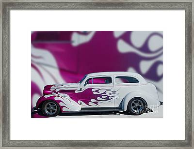 37 Chev Framed Print by Jim  Hatch