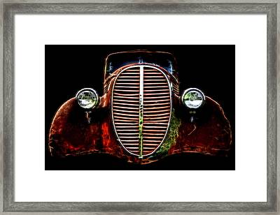 37 Chevy Framed Print