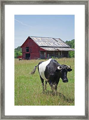 37 More Miles Framed Print by David Troxel