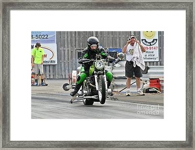 3702 05-10-2015 Esta Safety Park Framed Print by Vicki Hopper