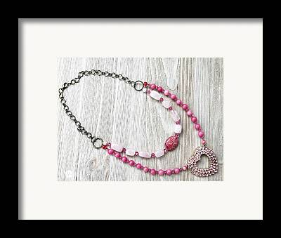 Recycled Jewelry Framed Prints